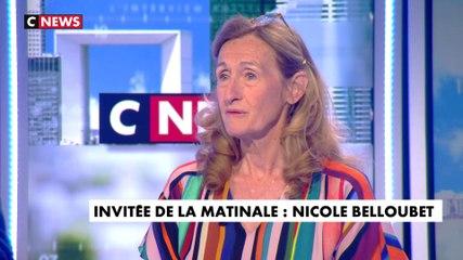 Nicole Belloubet - CNews lundi 8 juillet 2019