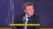 """Macron dénonce une """"prise en otages"""" des bacheliers : """"C'est inconcevable que des professeurs puissent imaginer ne pas donner les notes"""", affirme François Baroin"""