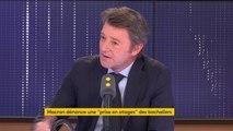 """Grève des correcteurs du bac  : """"Il faut être ferme et il faut des sanctions"""", déclare François Baroin"""