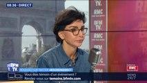 """Rachida Dati (LR): """"Je ne suis pas pour la sanction"""" des enseignants qui ont gardé les copies du bac, """"je suis pour l'ouverture d'un dialogue"""""""