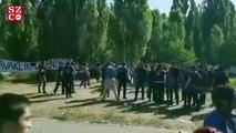 ODTÜ'de polisten biber gazlı müdahale