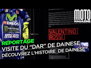 Dainese nous ouvre ses archives, DAR Dainese ARchivio - reportage Moto Magazine