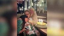 Le post Instagram plein de tendresse de Laeticia Hallyday pour l'anniversaire de sa grand-mère