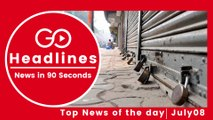 Top News Headlines of the Hour (08 July, 1 PM)