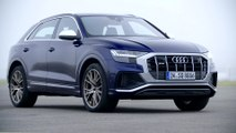 The new Audi SQ8 Design in Navarra Blue