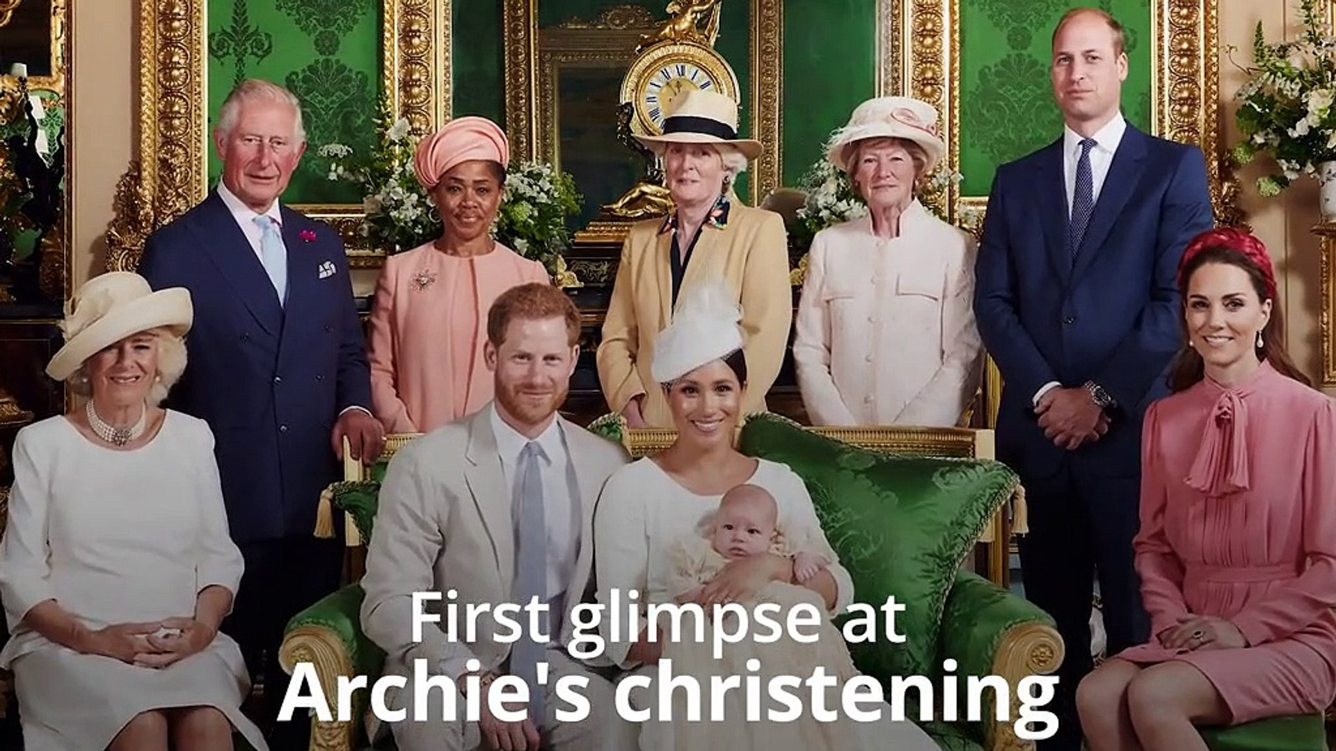 Harry And Meghan Release First Pictures Of Archies Christening