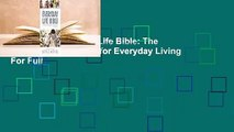 Online The Everyday Life Bible: The Power of God's Word for Everyday Living  For Full