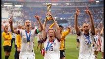 Les Etats-Unis remportent la Coupe du monde féminine de football