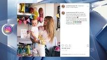 Caroline Receveur a mis le paquet pour le premier anniversaire de son fils Marlon