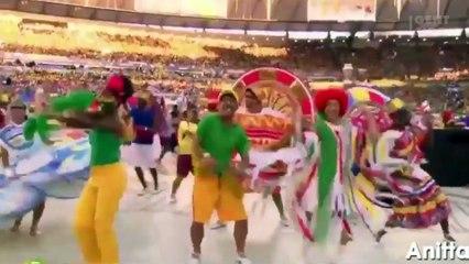 Anitta encerra Copa América com look de tirar o fôlego