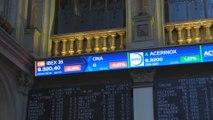 La bolsa española comienza la semana con recortes del 0,30 % pero mantiene los 9.300 puntos