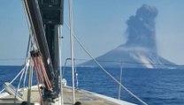 L'éruption du Stromboli filmée depuis un voilier juste au bon moment !