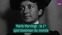 """Marie Marvingt, première """"sportswoman"""" du monde"""
