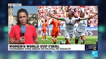 Women's World Cup: Tournament stirs debate on politics, pay equality