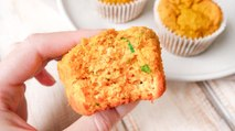Savoury Sweet Potato Muffins - Recipe RFHB