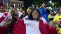 Aficionados peruanos satisfechos con participación en Copa América