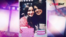 Alia Bhatt wishes boyfriend Ranbir Kapoor's mother Neetu Kapoor on her birthday | FilmiBeat