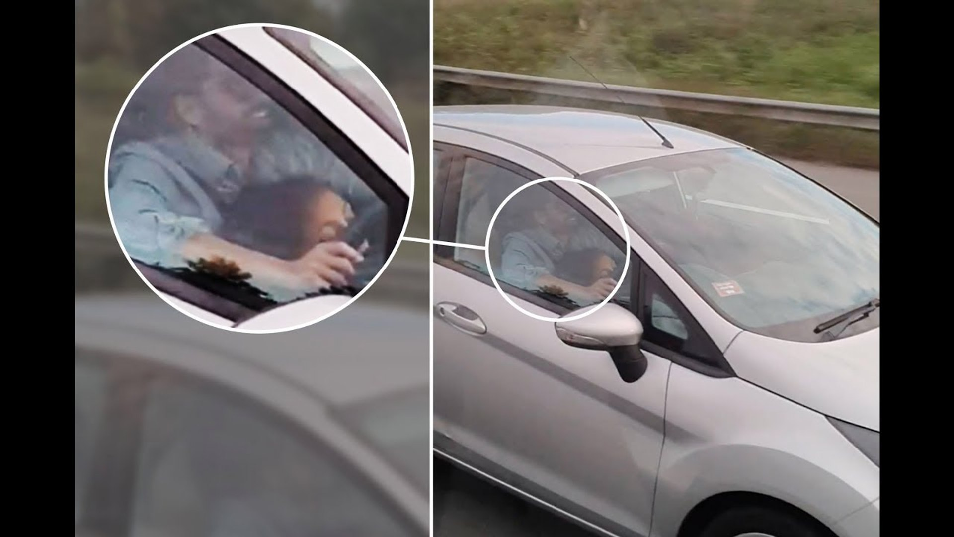 Tour bus catches couple having sexv in car (Video) Any Articles News