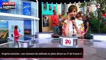 Virginie Lemoine : son moment de solitude en plein direct au JT de France 2 (vidéo)