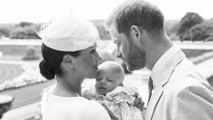 Les photos officielles du baptême d'Archie