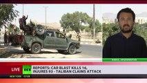 Car blast in Kabul: 16 killed, 93 injured as Taliban claims responsibility