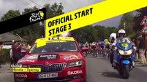 Départ Officiel / Official Start - Étape 3 / Stage 3 - Tour de France 2019
