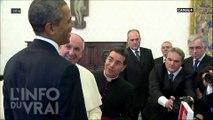 Qui voit le Pape ? - L'Info du Vrai du 05/07 - CANAL+