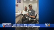 Disabled Colorado Veteran Gets New Car