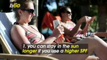Don't Get Burned! 5 Common Sunscreen Myths