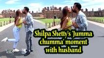 Shilpa Shetty's 'Jumma chumma' moment with husband