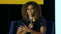 "Michelle Obama: ""Democrats and Republicans tried to take me out by the knees"""