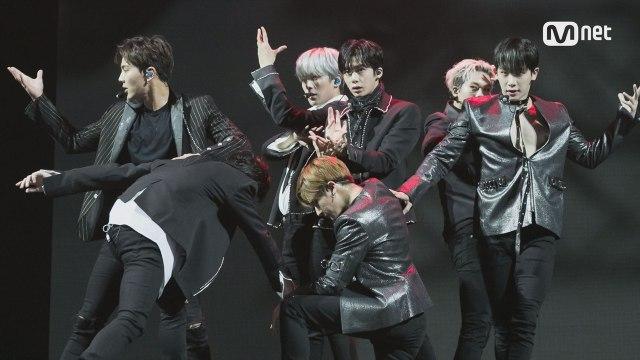 KCON 2017 AUSTRALIA×M COUNTDOWN|몬스타엑스(MONSTA X) _ Intro + Shine Forever