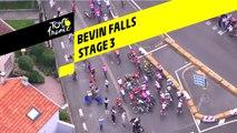 Chute de Bevin / Bevin Falls - Étape 3 / Stage 3 - Tour de France 2019