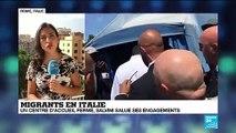 Italie : le plus grand centre d'accueil de migrants d'Europe ferme ses porte
