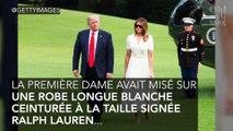 Mélania Trump copie le look de Kate Middleton !