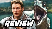 Jurassic World Review - Chris Pratt Raptor Jesus