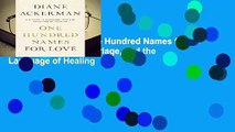 About For Books  One Hundred Names for Love: A Stroke, a Marriage, and the Language of Healing