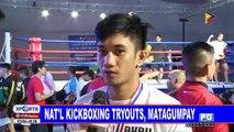 Nat'l kickboxing tryouts, matagumpay