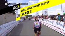 Wellens au sommet du deuxième col / Wellens reaches the second top  - Étape 3 / Stage 3 - Tour de France 2019