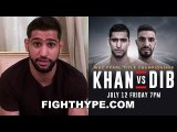 (BREAKING) AMIR KHAN CONFIRMS BILLY DIB IS NEW OPPONENT FOR JULY 12; GOYAT INJURED IN CAR ACCIDENT
