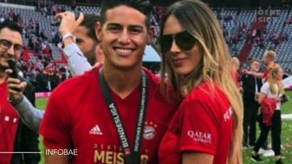 As fotos mais ousadas da nova namorada de James Rodriguez