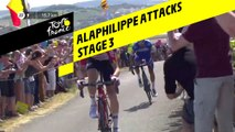 Alaphilippe attaque / Alaphilippe attacks - Étape 3 / Stage 3 - Tour de France 2019