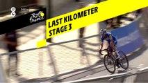 Last kilometer / Flamme rouge - Étape 3 / Stage 3 - Tour de France 2019