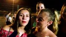 Réactions du public à la Nuit des DJ à Fos