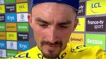 """Tour de France 2019 / Julian Alaphilippe : """"Je pensais à gagner l'étape avant le maillot jaune"""""""