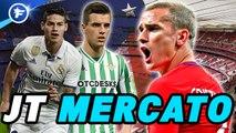 Journal du Mercato : l'Atlético de Madrid prend feu