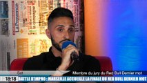Le rappeur marseillais Sat dans le jury du Red Bull dernier mot