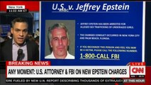 U.S. Attorney & FBI on new Epstein charges. #Breaking #FBI #US