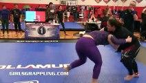 #200 • EXCLUSIVE! Girls Grappling No-Gi Match Bout  • Women Wrestling BJJ MMA Female