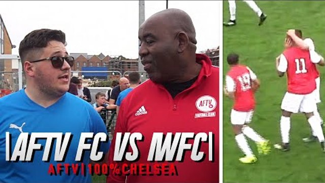 AFTV FC V Imperial Wharf  | Arsenal & Chelsea Fan Grudge Match! (Commentary by Terry)